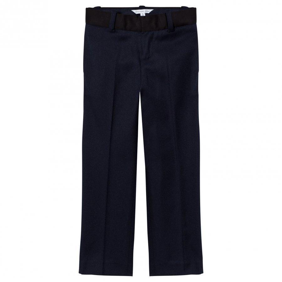Little Marc Jacobs Navy And Black Suit Trousers Puvunhousut