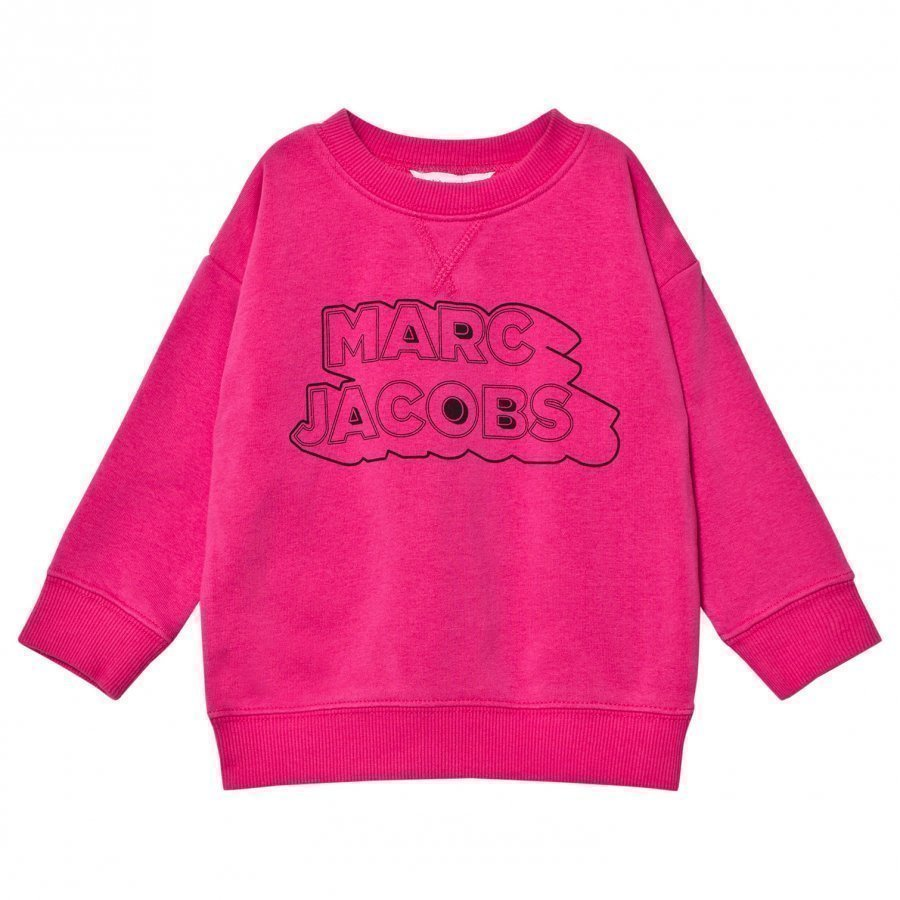 Little Marc Jacobs Pink Branded Sweatshirt Oloasun Paita