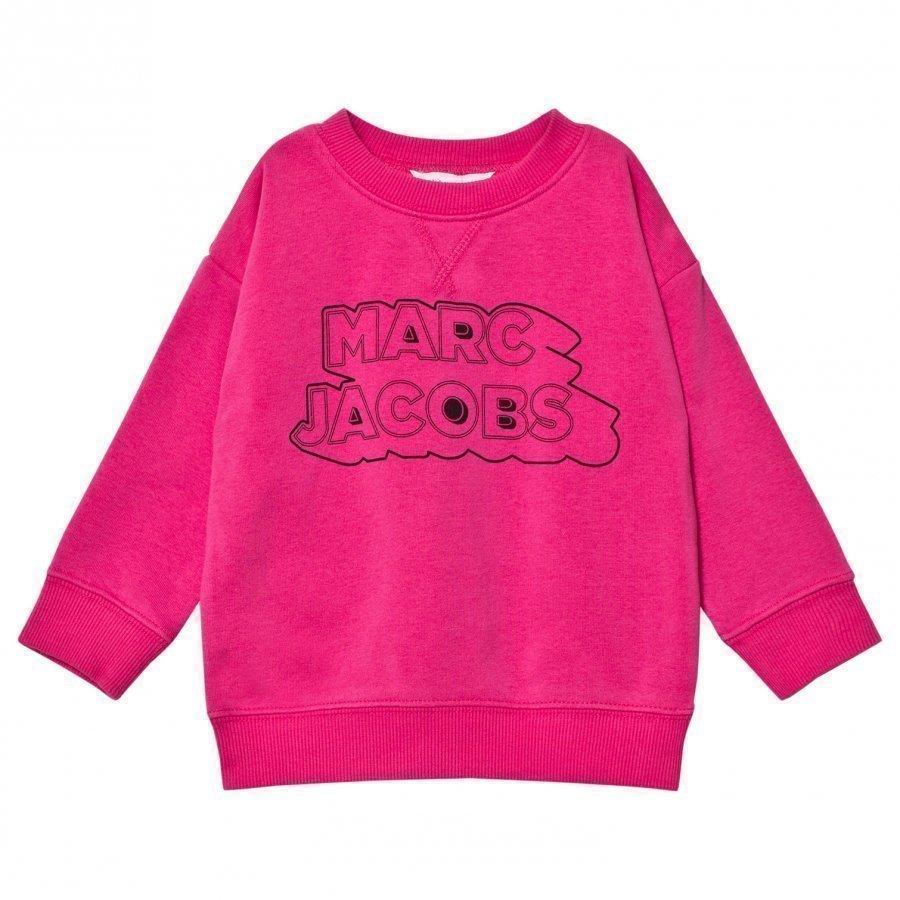 Little Marc Jacobs Pink Branded Sweatshirt Oloasun Paita