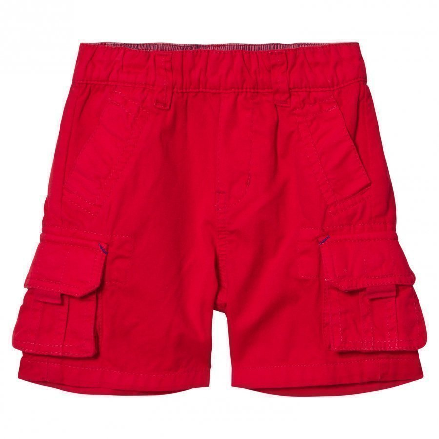Little Marc Jacobs Red Cargo Shorts Cargo Shortsit