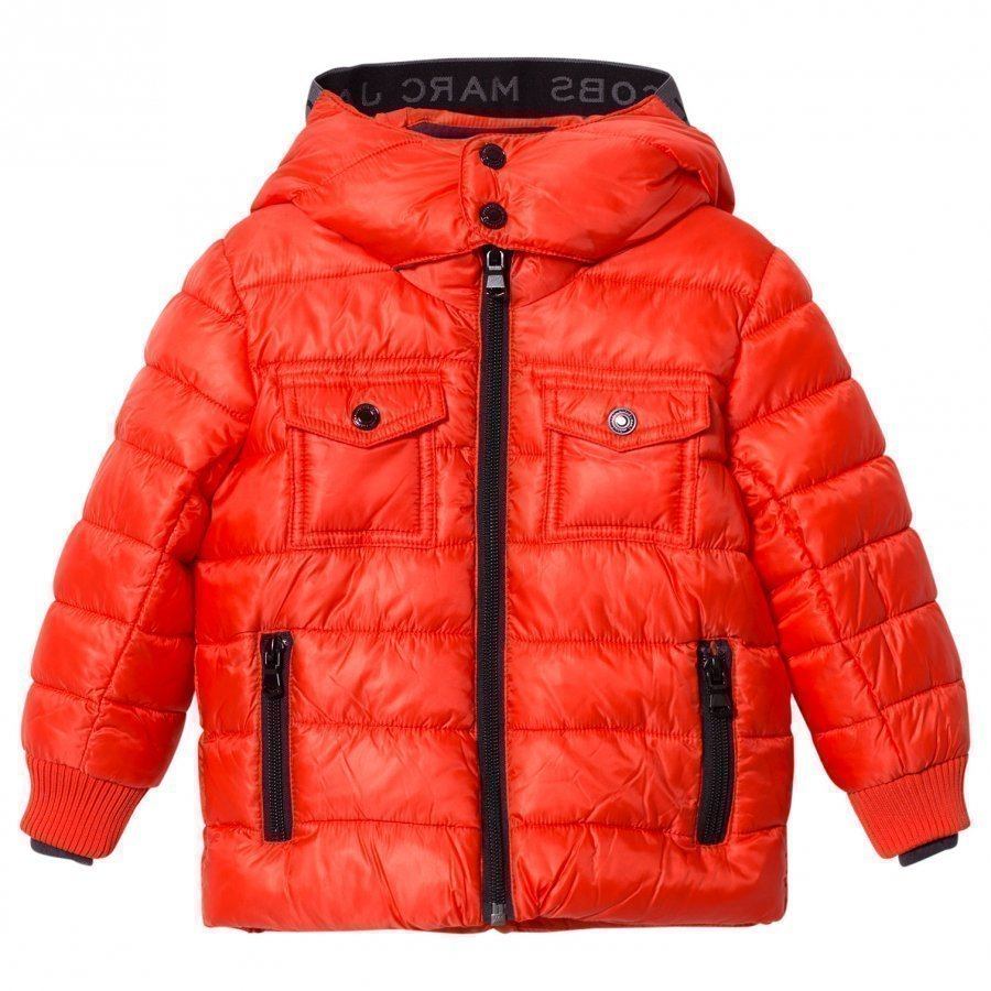 Little Marc Jacobs Red Puffer Coat Toppatakki