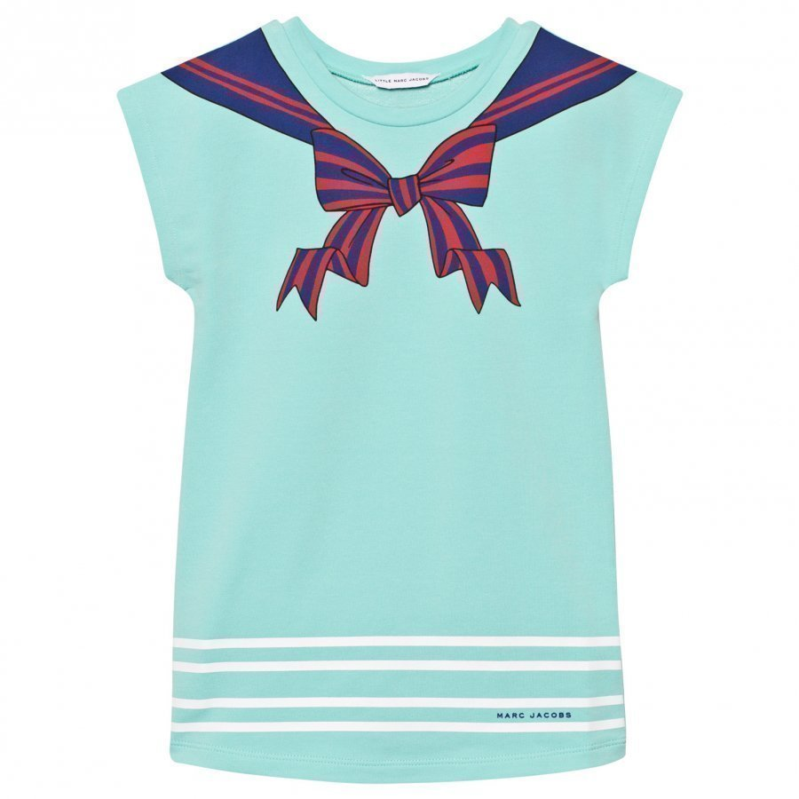 Little Marc Jacobs Turquoise Sailor Print Dress Mekko