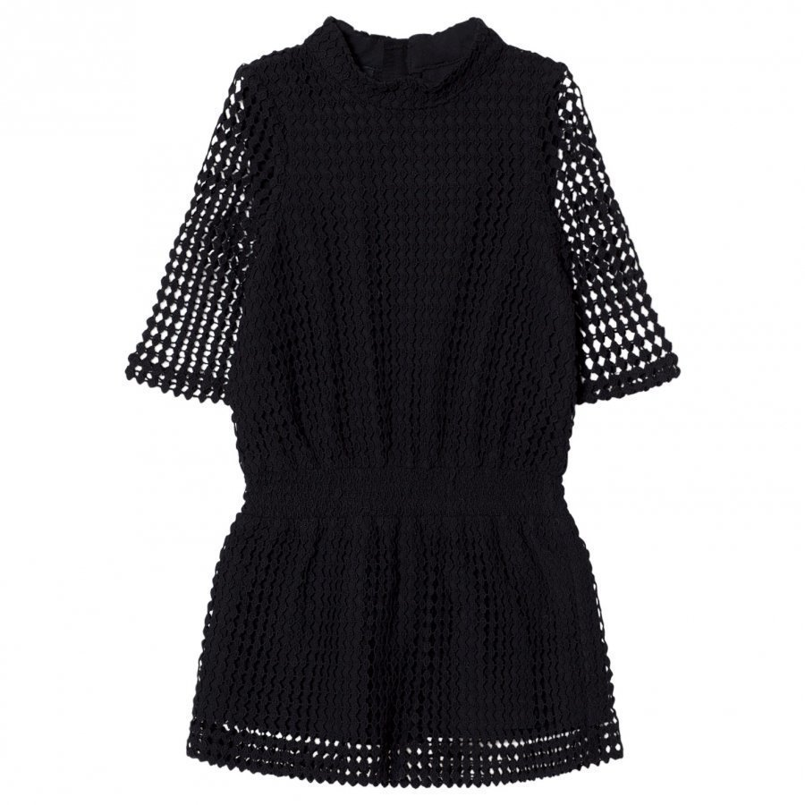 Little Remix Amelie Lace Dress Black Juhlamekko