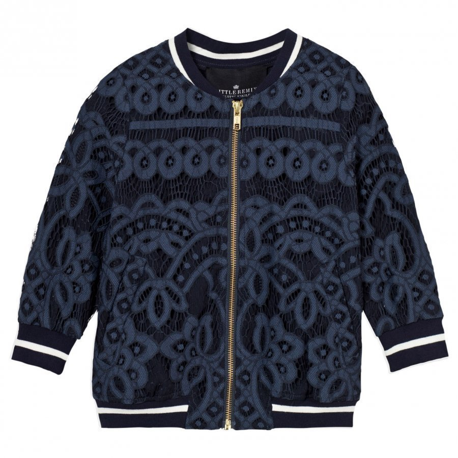 Little Remix Audrey Pilot Jacket Navy Bomber Takki