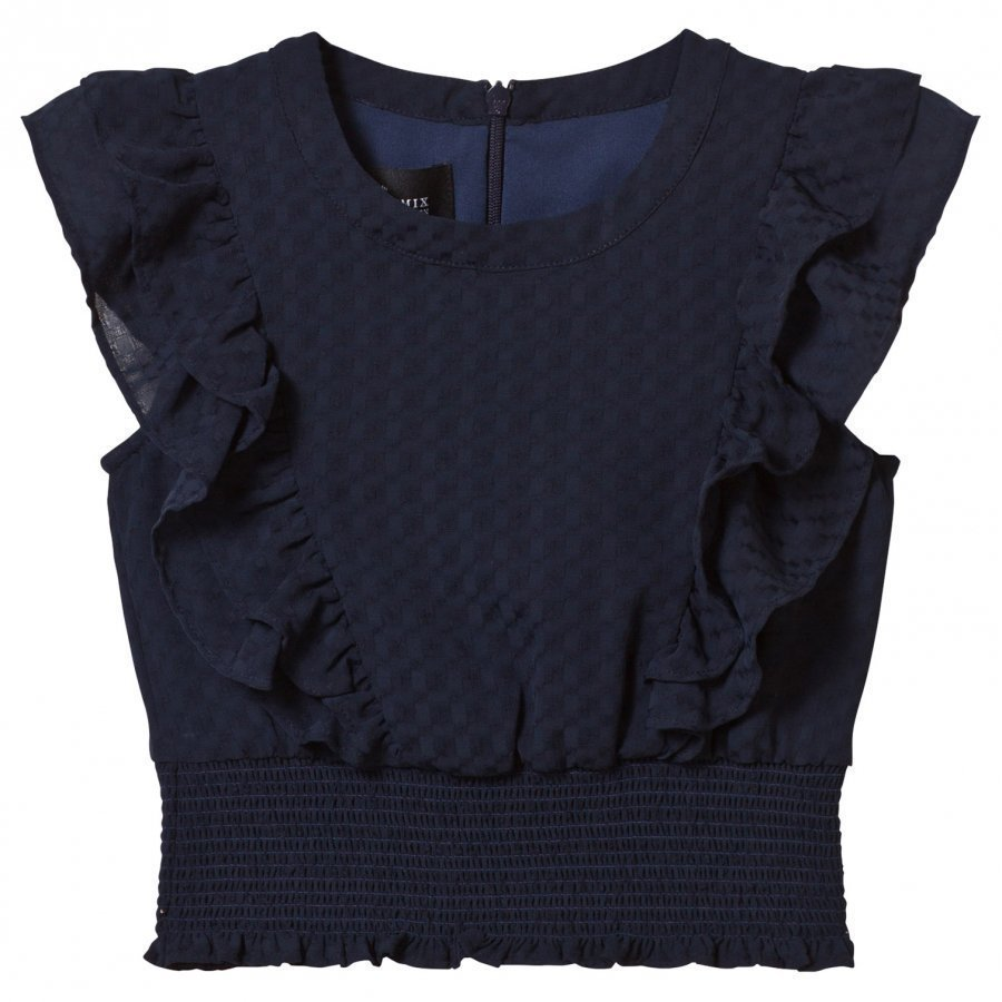 Little Remix Jr Enigma Top Navy Pusero