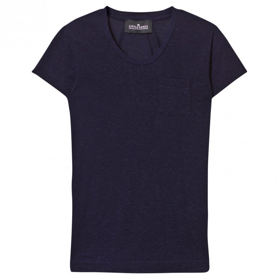 Little Remix Jr New Blos Tee Navy T-Paita