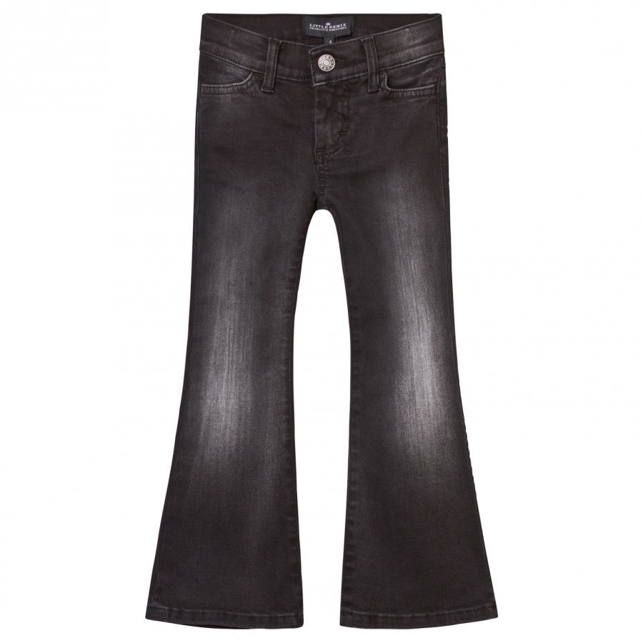 Little Remix Jr New Moon Flare Jeans Black Farkut