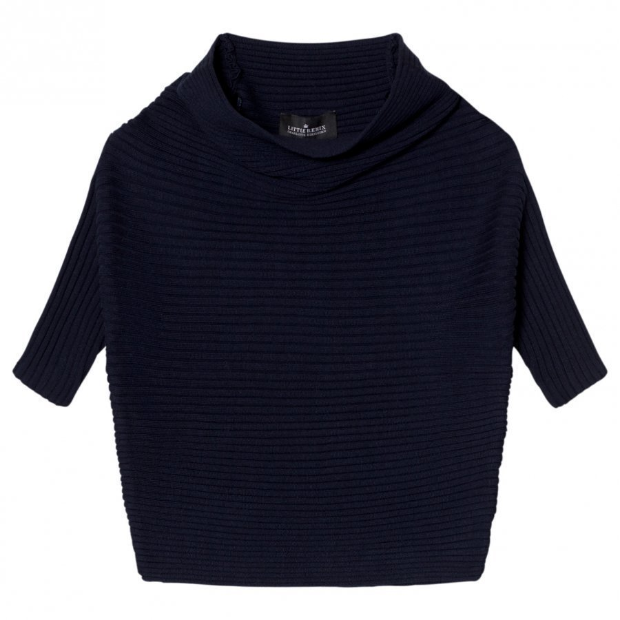 Little Remix Jr Ribly Drape Navy Oloasun Paita