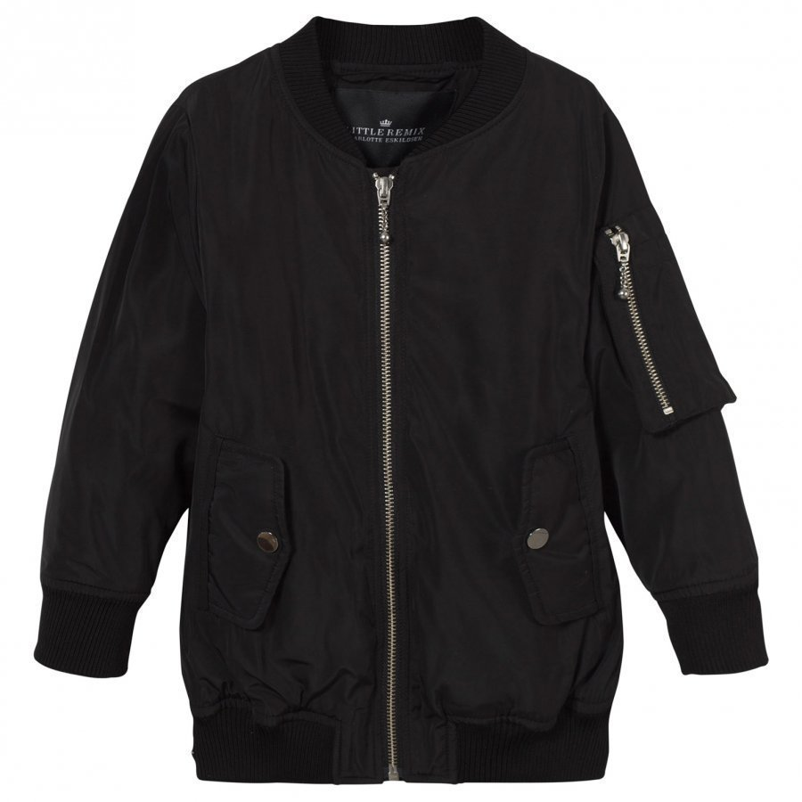 Little Remix Liana Bomber Jacket Black Bomber Takki