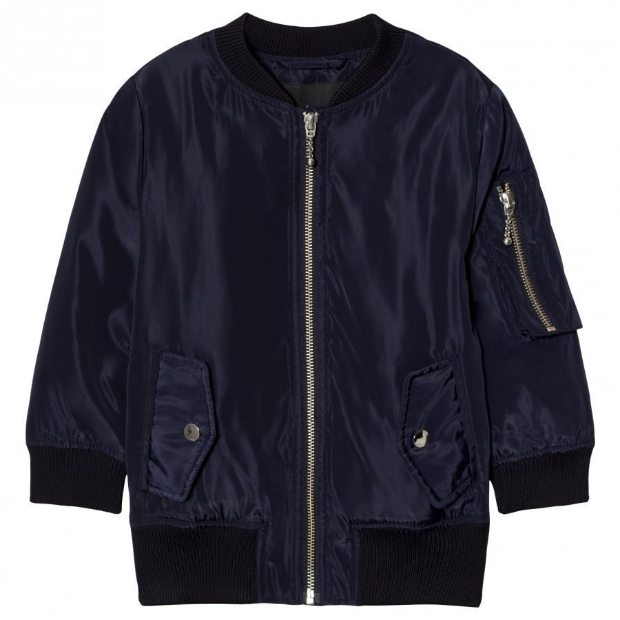Little Remix Liana Lace-Up Bomber Navy Bomber Takki
