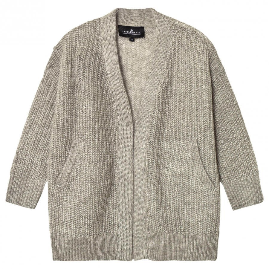 Little Remix Vicki Cardigan Grey Melange Neuletakki