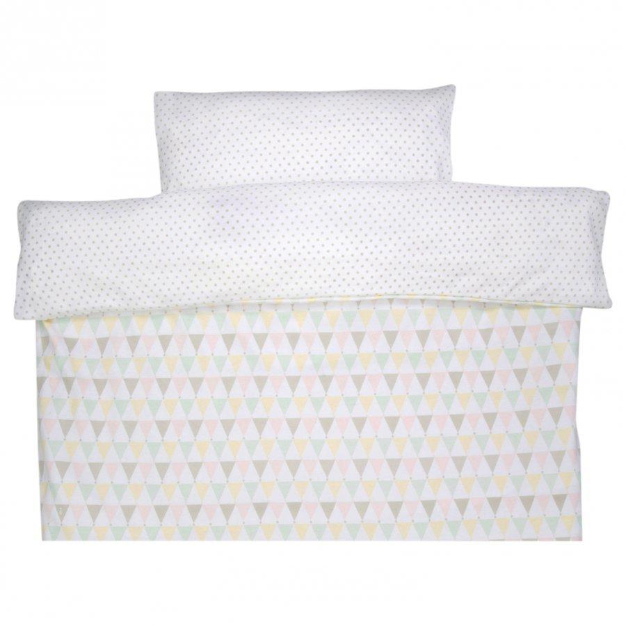 Littleheart Baby Cot Bedding Confetti Pastel Pussilakanasetti