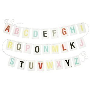 Littlephant Alphabet On A String A6 Koriste