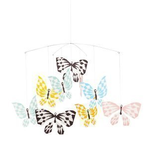 Littlephant Butterfly Family Mobiili Sininen
