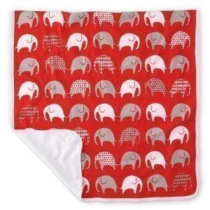 Littlephant Elephant Baby Jersey Huopa Punainen / Harmaa