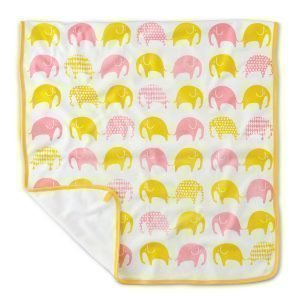 Littlephant Elephant Baby Jersey Huopa Valkoinen / Keltainen / Punainen