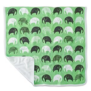 Littlephant Elephant Baby Jersey Huopa Vihreä / Harmaa