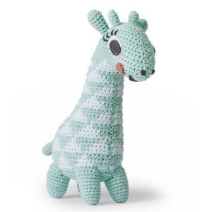 Littlephant Giraffe Melody Soft Lelu Sininen