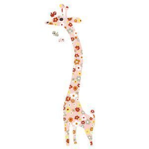 Littlephant Giraffe Seinätarra Multi