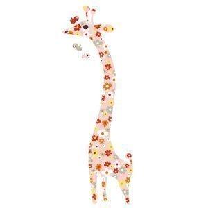 Littlephant Giraffe Seinätarra Multi