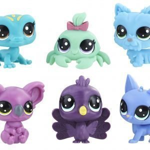 Littlest Petshop Lps Value Pack Lemmikit Lila / Sininen