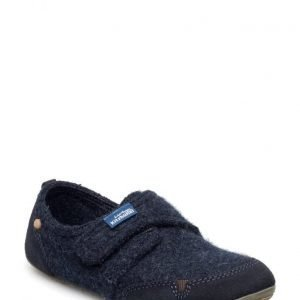 Living Kitzbuhel Slipper With Velcro And Velour