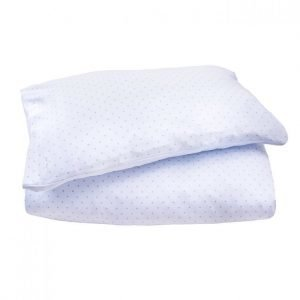 Livly Bedding Set Blue/ Silver Dots Pussilakanasetti
