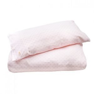 Livly Bedding Set Pink/ Gold Dots Pussilakanasetti