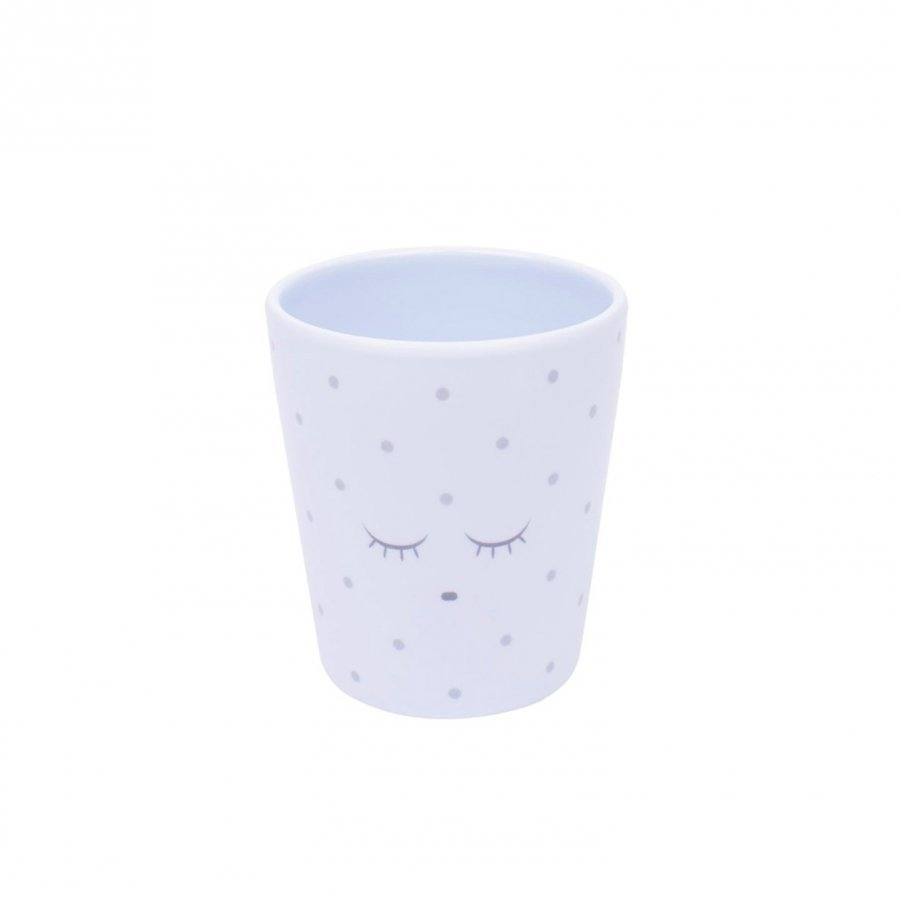 Livly Cup Baby Blue/Silver Dots Lounasrasia