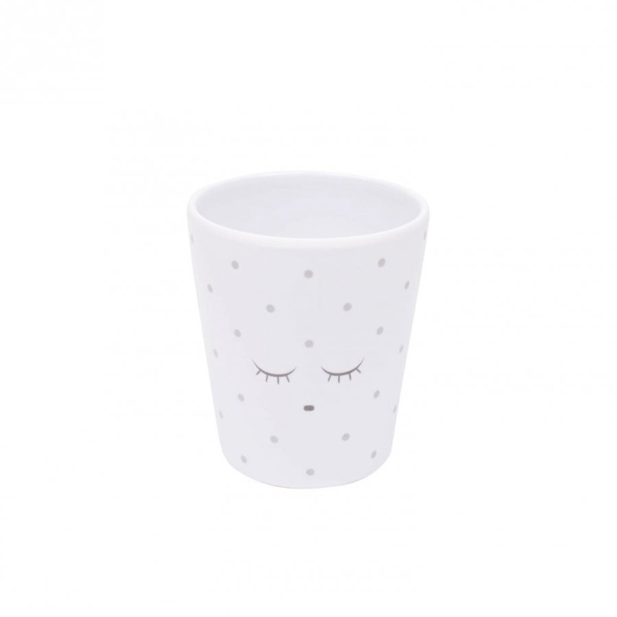 Livly Cup White/Silver Dots Lounasrasia