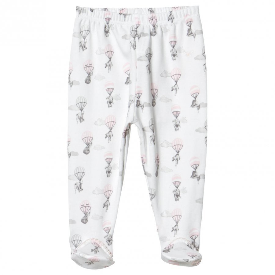 Livly Footed Pants Pink Elephant Housut