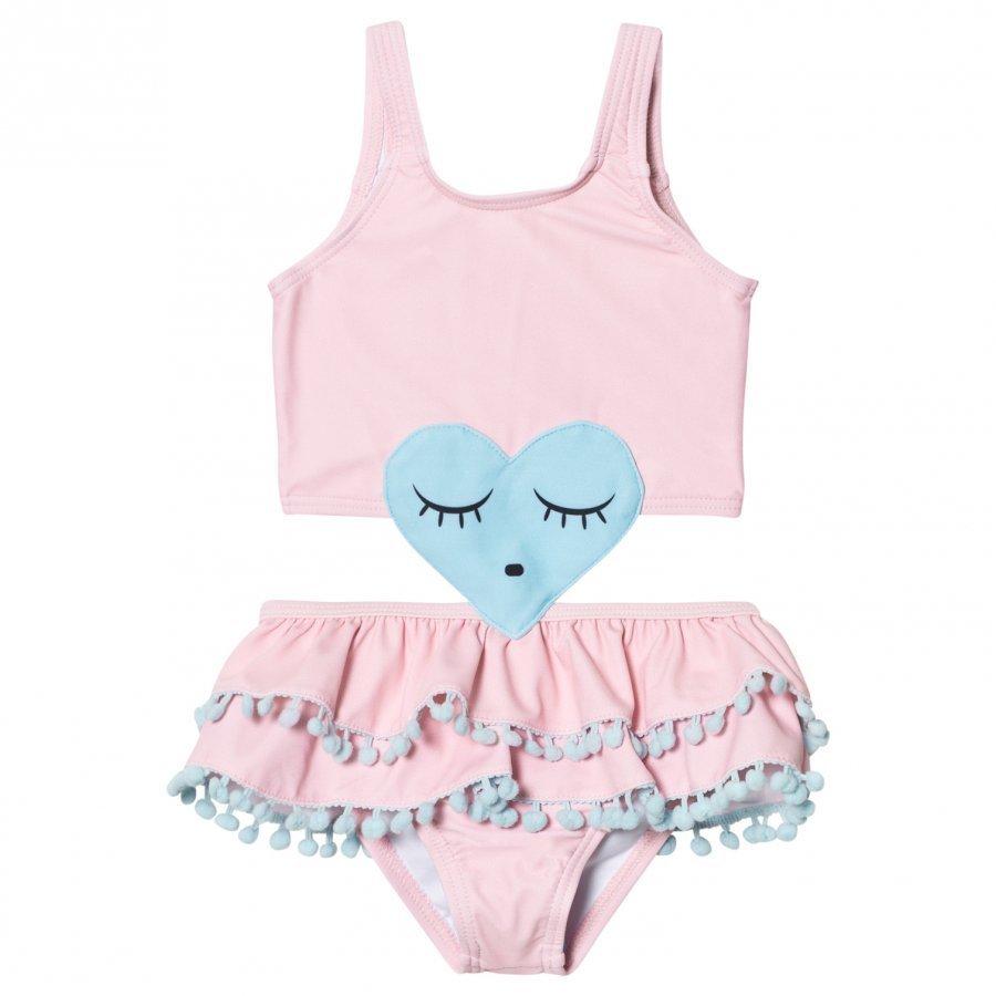 Livly Heart Bikini Rose Water Pink Bikinit