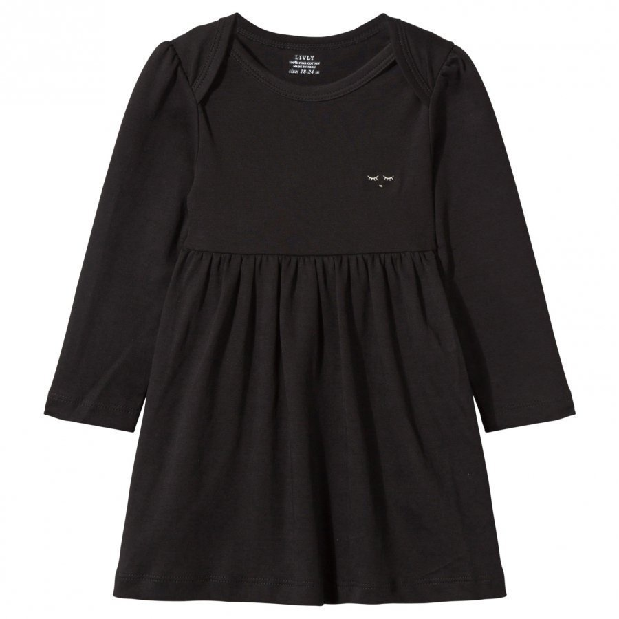 Livly Long Sleeve Dress Black Mekko