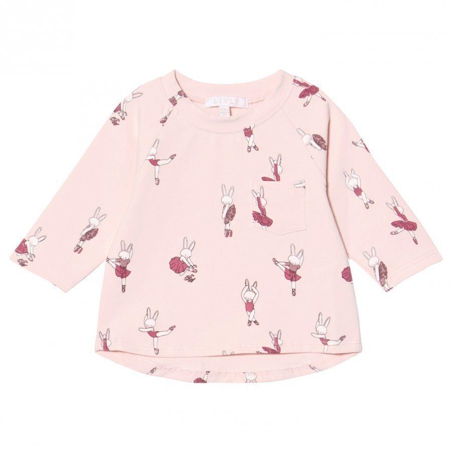 Livly Long Sleeve Tee Ballerina Bunny Pitkähihainen T-Paita