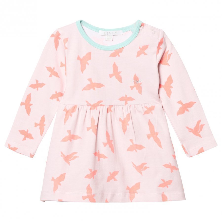 Livly Lotta Dress Pink Luna Mekko