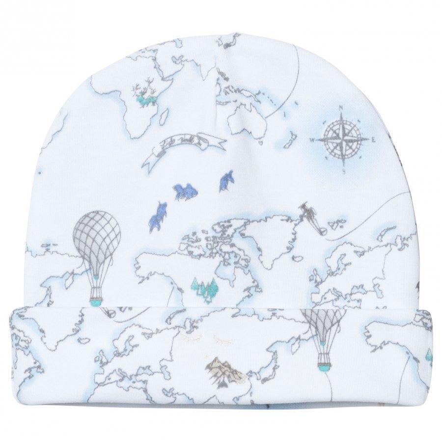 Livly Ninni Hat Blue World Map Pipo