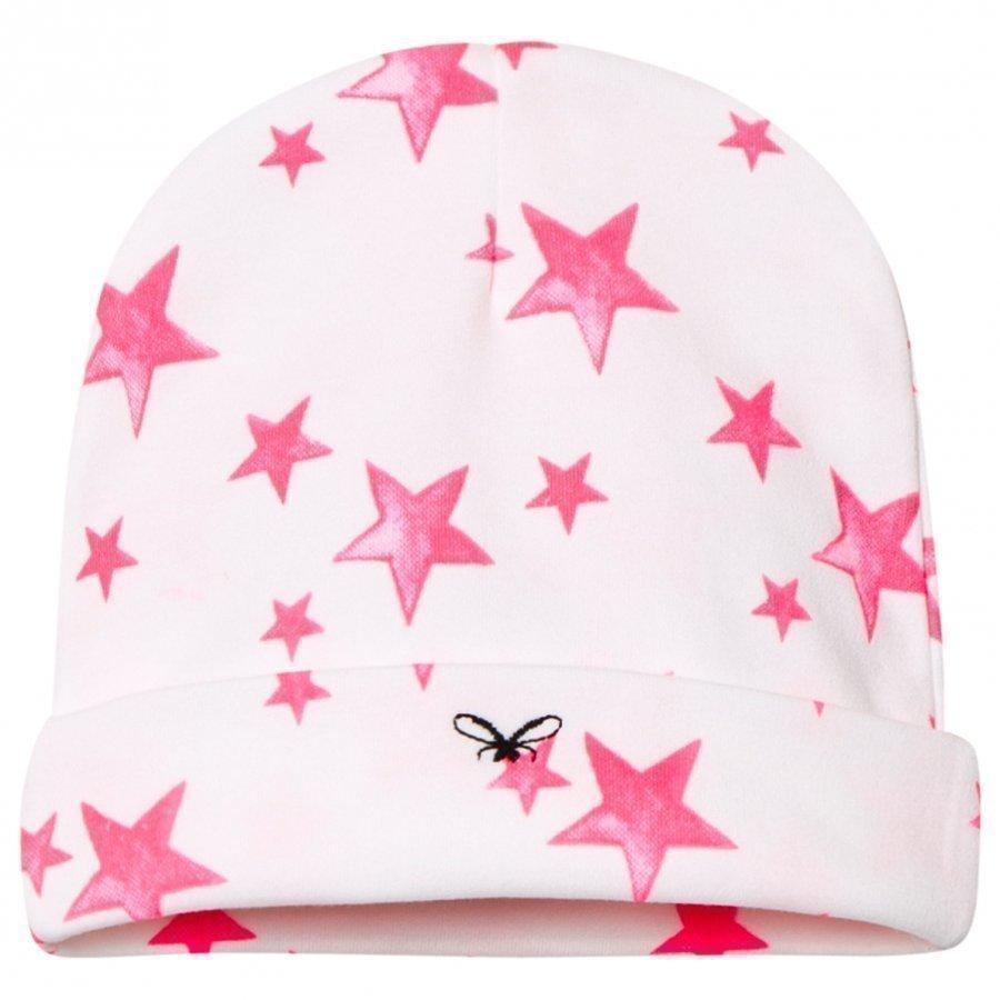 Livly Ninni Hat Hot Pink Stars Pipo