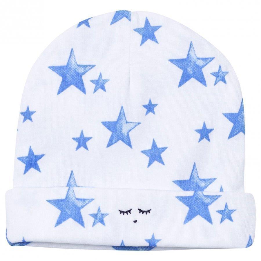 Livly Ninni Hat Neon Blue Stars Pipo
