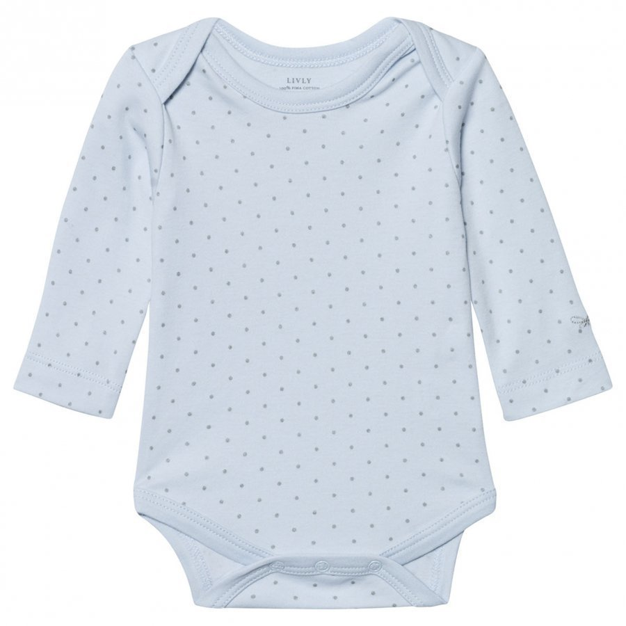 Livly Saturday Body Baby Blue/Silver Dots Body