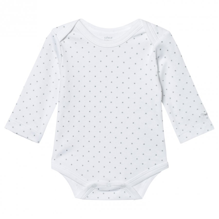 Livly Saturday Body White/Silver Dots Body