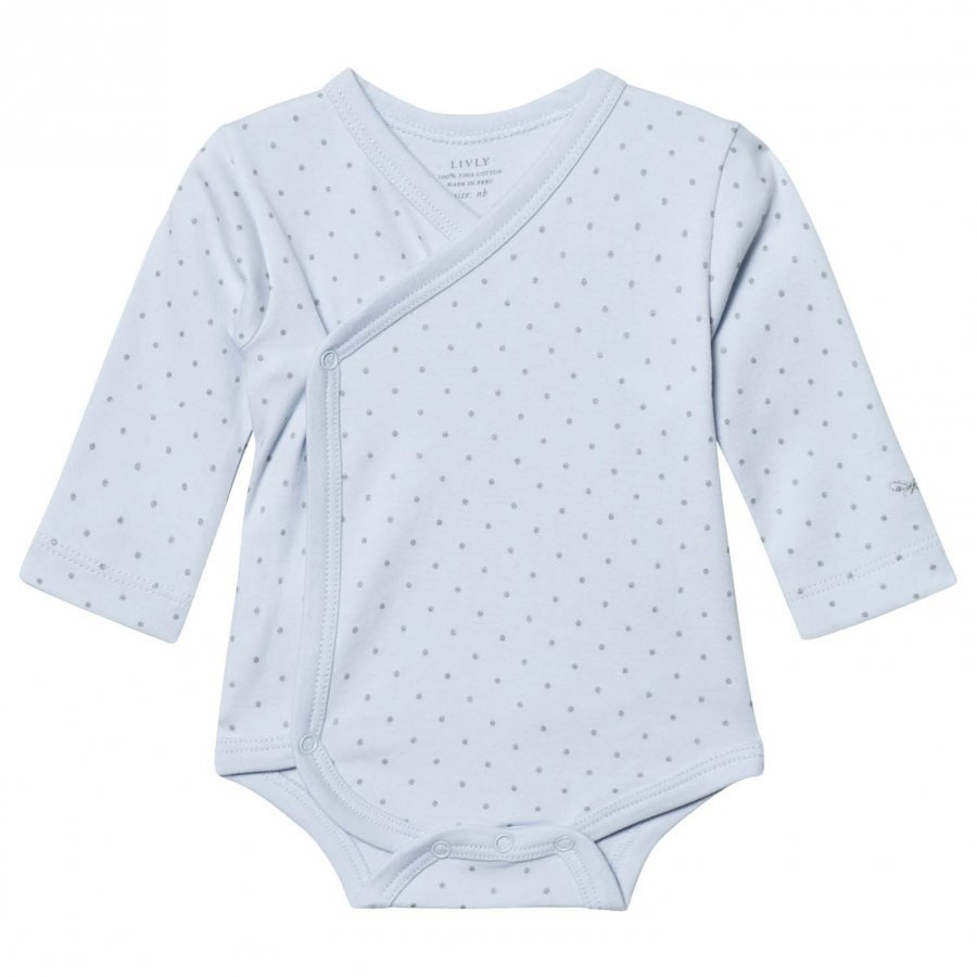Livly Saturday Crossed Body Blue/Silver Dots Body