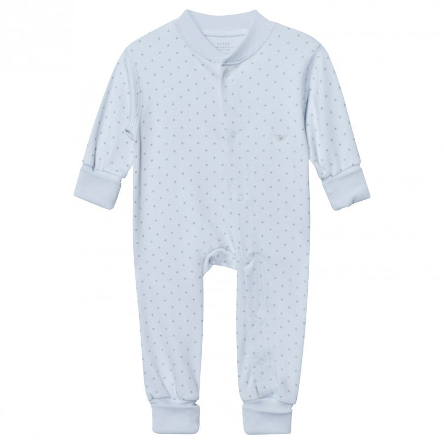 Livly Saturday One-Piece Baby Blue/Silver Dots Body