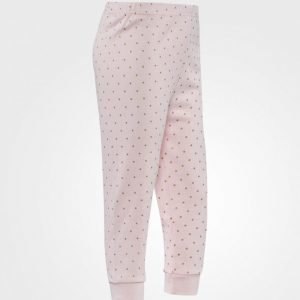 Livly Saturday Pants Pink/Gold Housut
