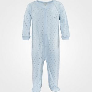 Livly Saturday Simplicity Onsie Baby Blue/Silver Dots Body