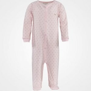 Livly Saturday Simplisity Onsie Baby Pink/Gold Dots Body