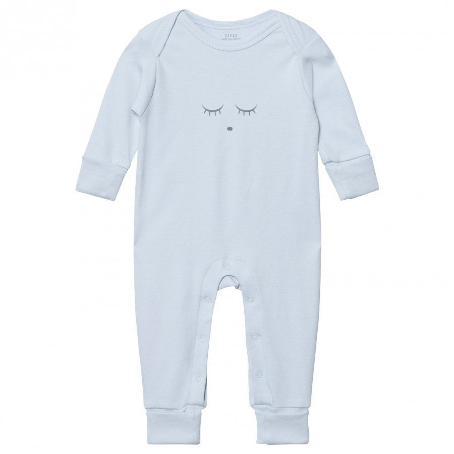 Livly Sleeping Cutie Baby Body Blue/Grey Body