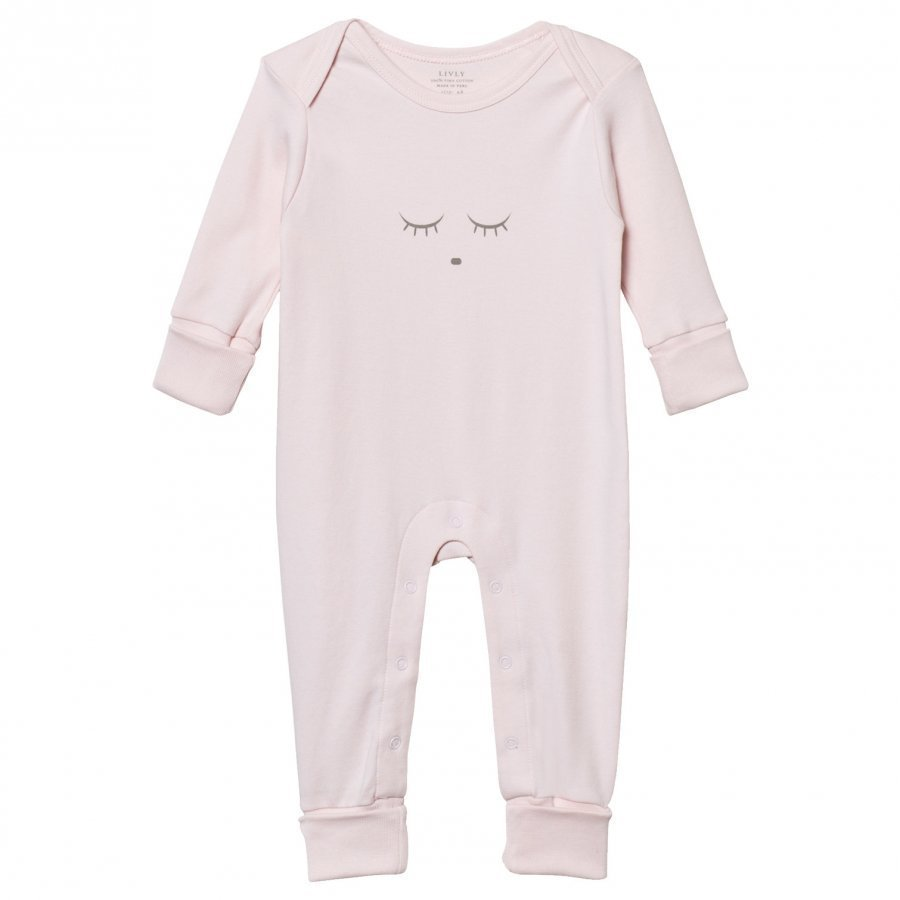 Livly Sleeping Cutie Baby Body Pink/Grey Body