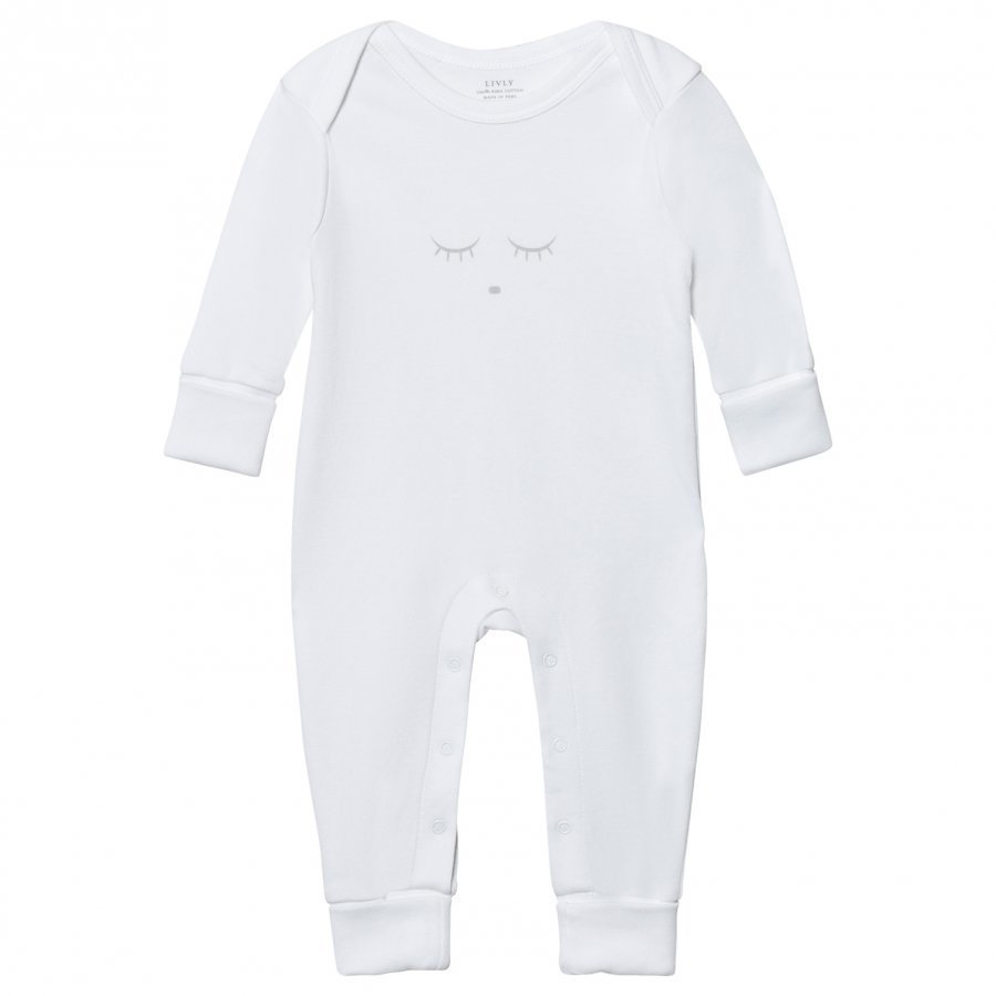 Livly Sleeping Cutie Baby Body White/Grey Body