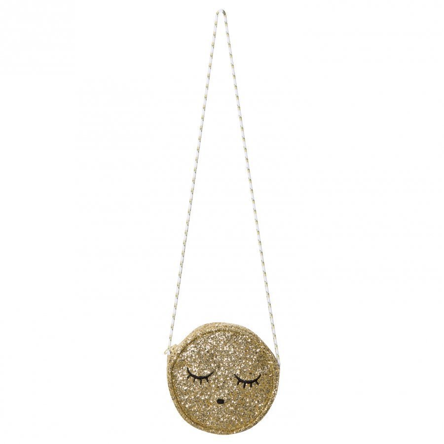 Livly Sleeping Cutie Bag Gold Glitter Käsilaukku