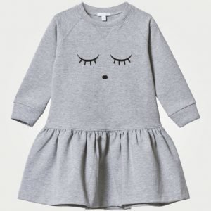 Livly Sleeping Cutie Sweatshirt Dress Grey Mekko